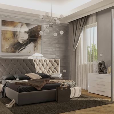 camera con letto Selene della Bolzan
