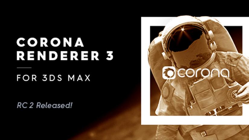 Render Legion rilascia Corona Renderer 3 RC2