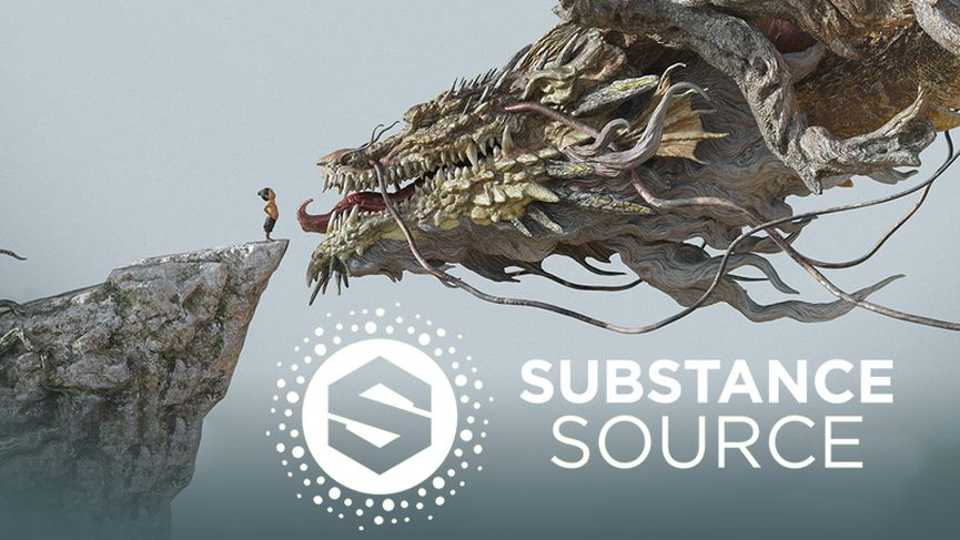 Allegorithmic annuncia Substance Source