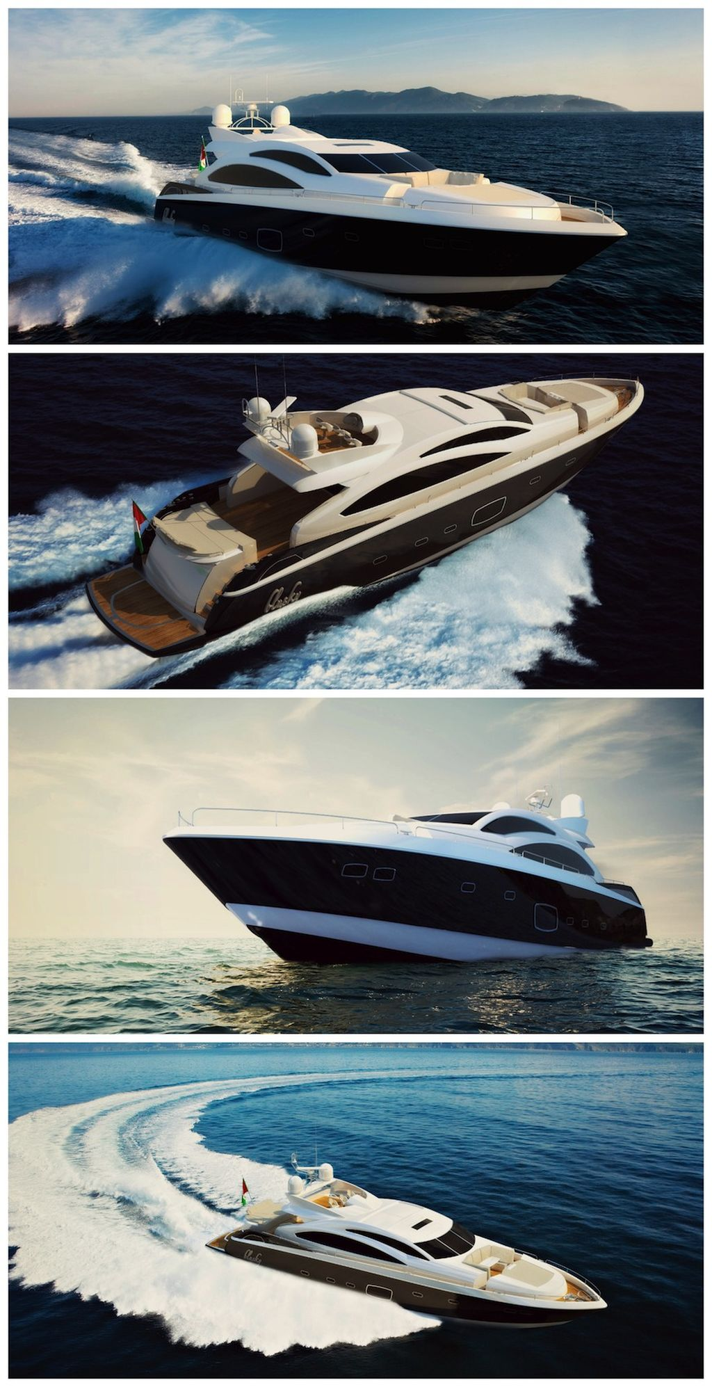 test rendering yacht
