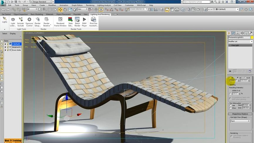 3ds max 2015 Extension 2, Lighting And Rendering