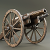 Cannon lowpoly