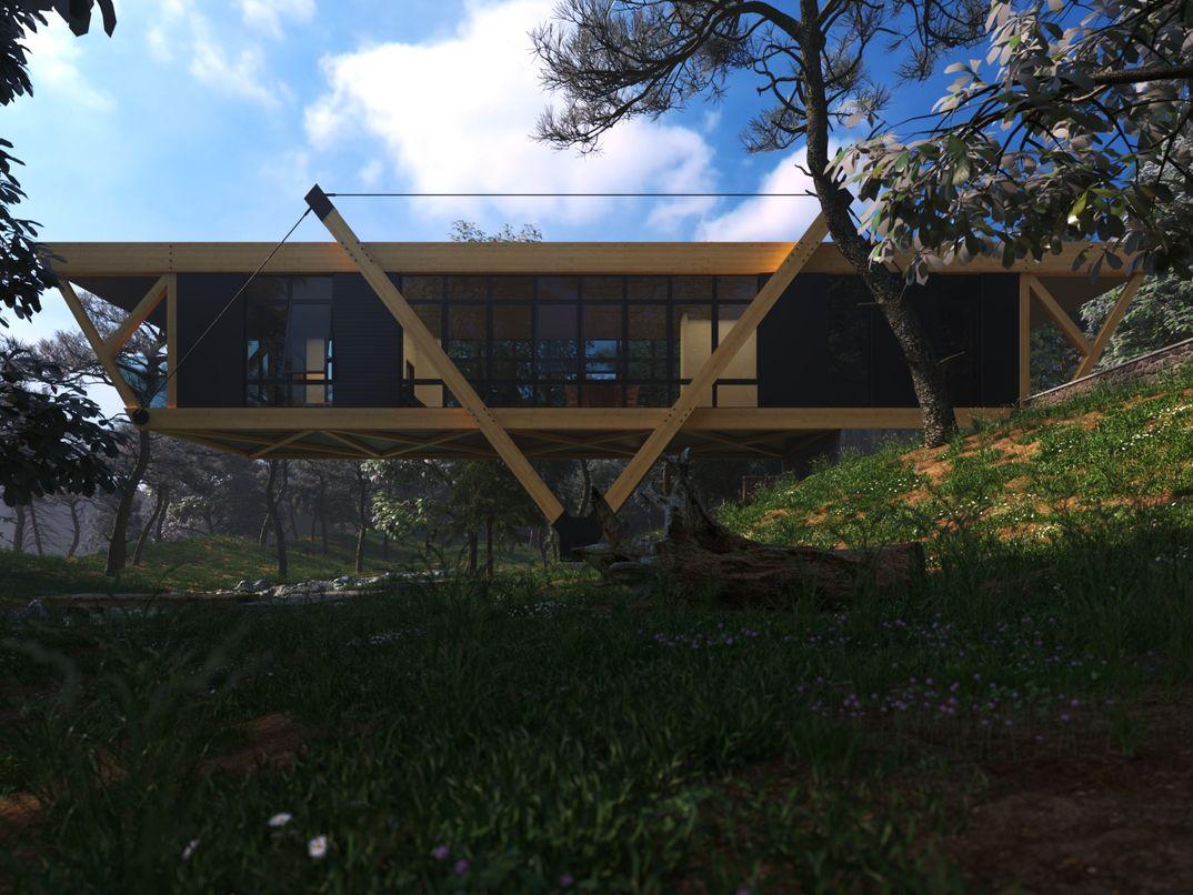 slope house