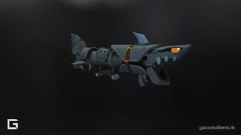 Fishbone 3D FanArt