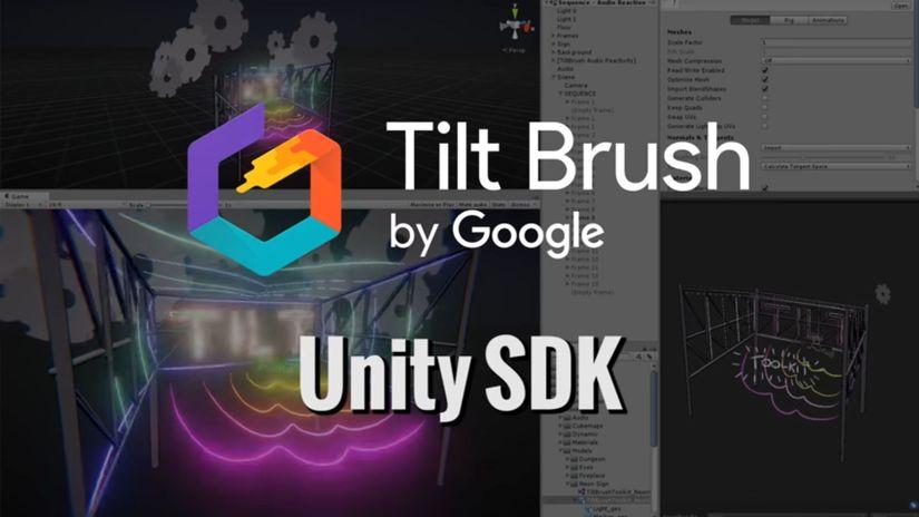 Google Tilt Brush: in arrivo il Toolkit con l'SDK per Unity