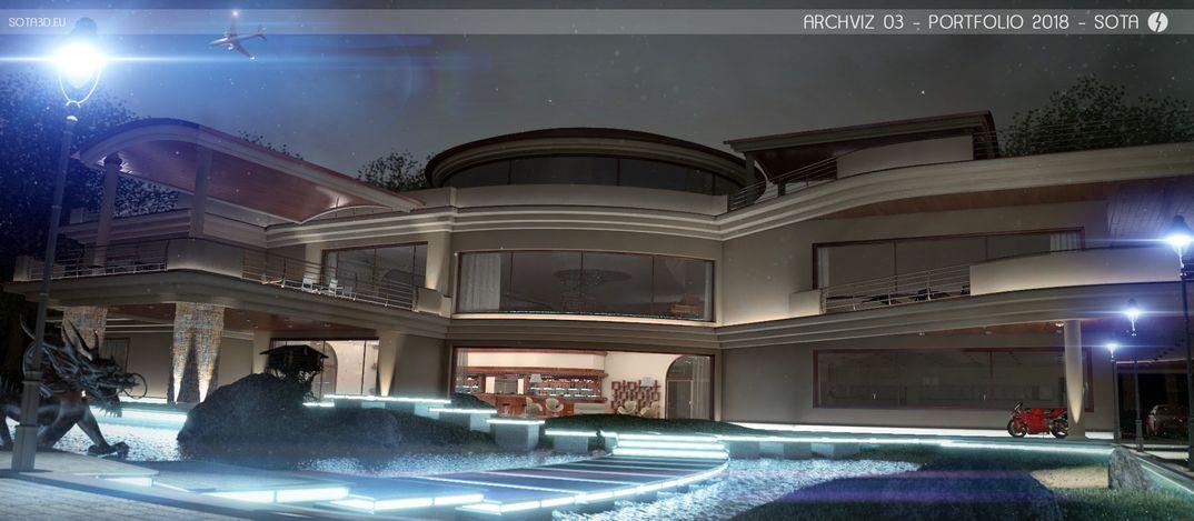 ARCHVIZ 03: The third image of my new portfolio.