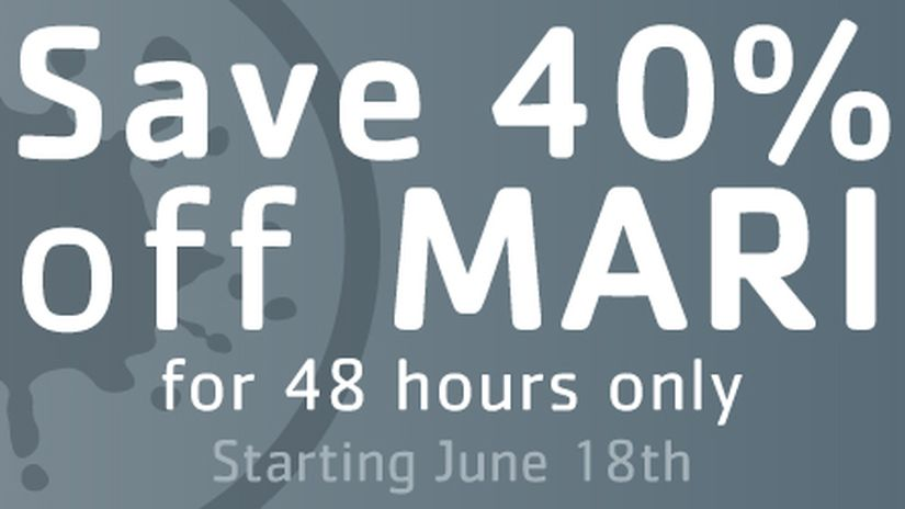 MARI discounted of 40%