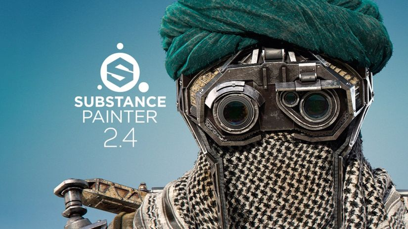 Allegorithmic Substance Painter 2.4