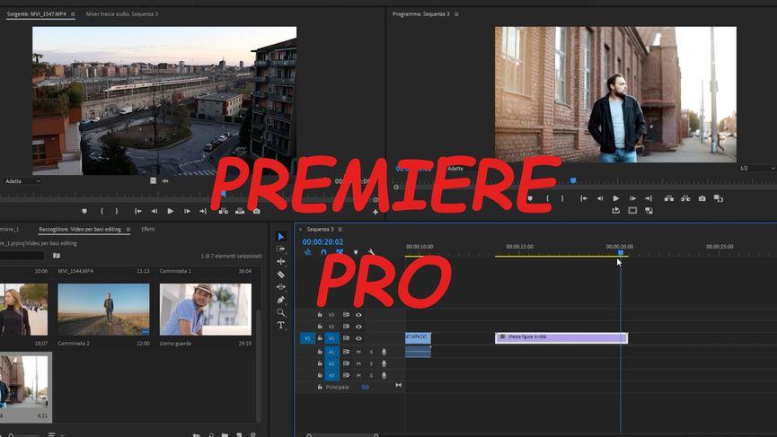Adobe Premiere Pro: gli strumenti per il video-editing