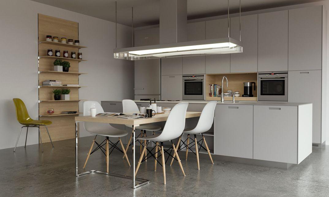 Kitchen Poliform render Corona