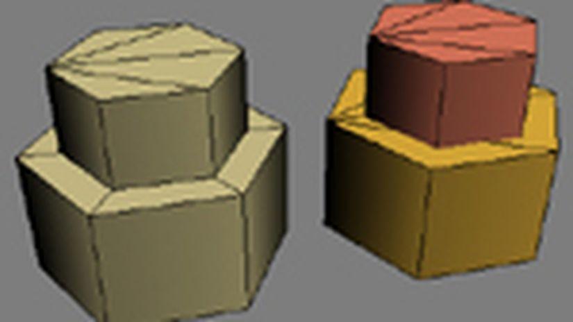 - Note Sulla Modellazione A Basso Numero Poligonale -
