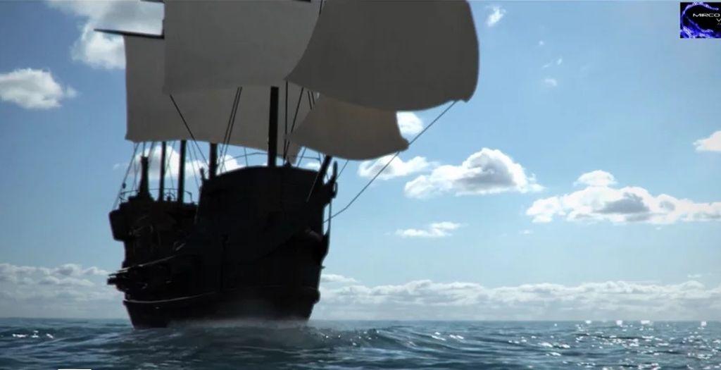Galleon: Houdini Simulation