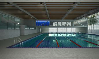 New sport center, Lucca