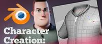 Creazione di Un Personaggio in Blender: Modellazione dei Vestiti (Timelapse)