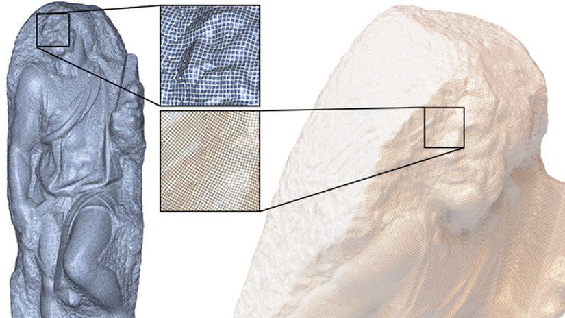 Tool gratuito di retopology automatico