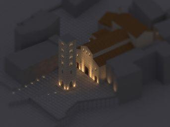 Giubileo della Luce - Light design per ANCI