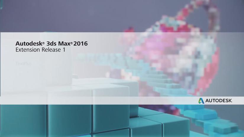 AUTODESK 3ds Max e Maya Extensions
