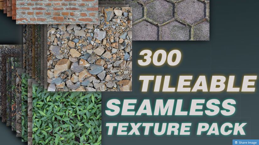300 Texture ripetibili