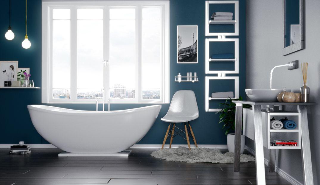 Archviz bathroom design render