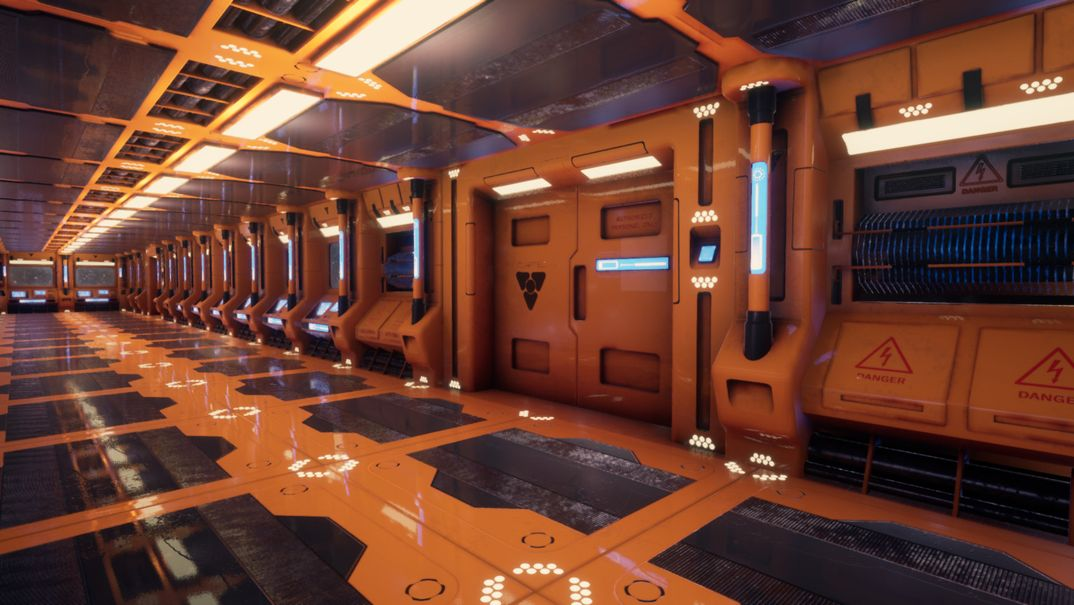 Sci-Fi Modular Corridor