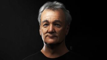 Bill Murray - 3D Portrait
