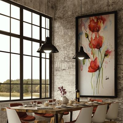 Dining view render Corona