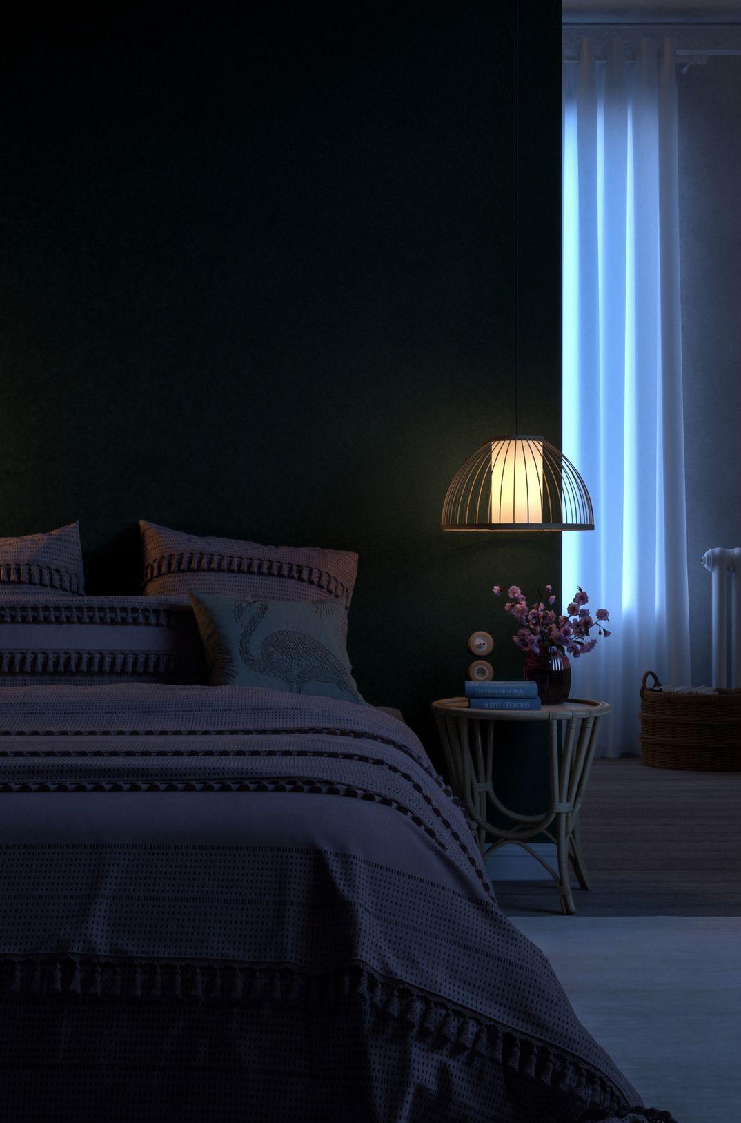 Green Bedroom - Night Version
