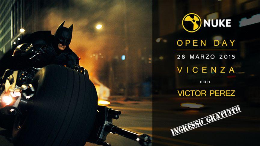 Open Day Nuke con Victor Perez a Vicenza!