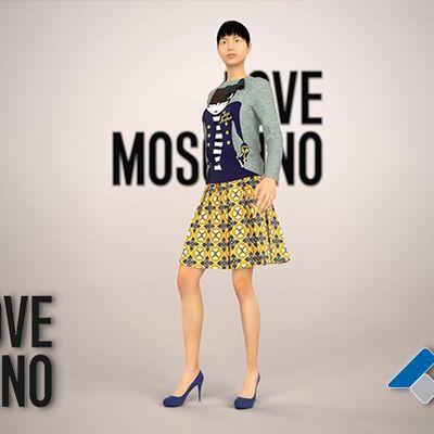 Virtual Fashion Show - Moschino
