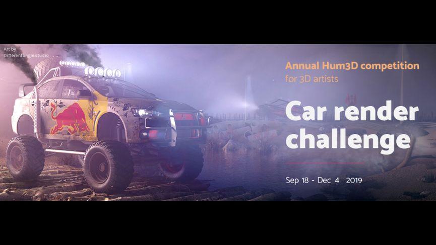 Treddi.com nella giuria del Car Render Challenge 2019