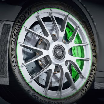 Porsche GT2 RS - wheels
