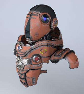 Advanced Robotics Symbiont Units
