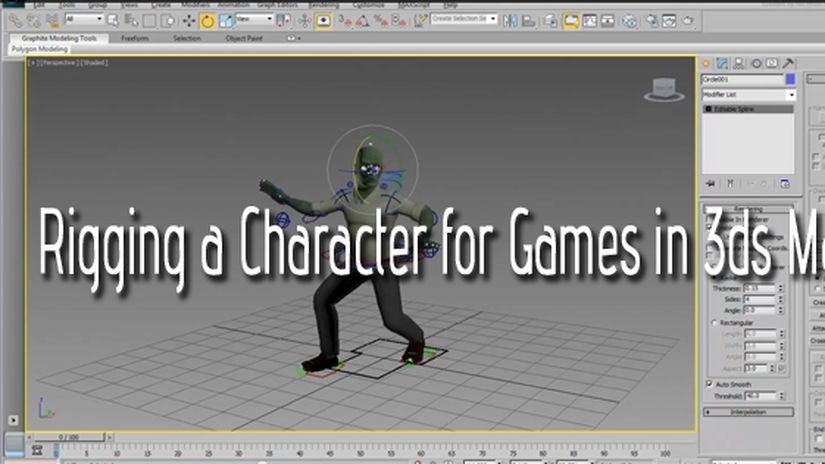 Rigging a Character for games in 3dsMax