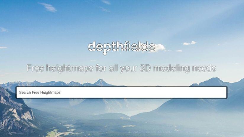 DeptFields: heightmap gratuite per tutti i gusti