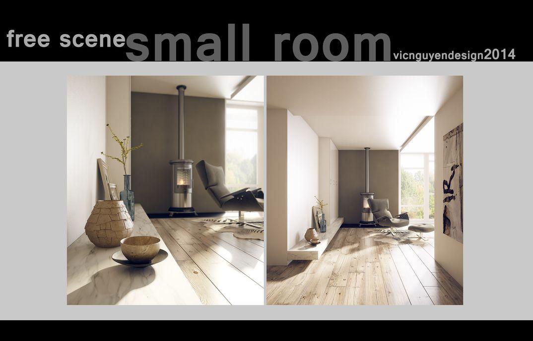 FREE scene: small room vicnguyen