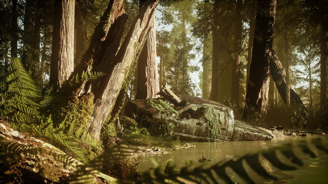 Inspired by The last of us Created with Unreal Engine 4.22 and raytrace