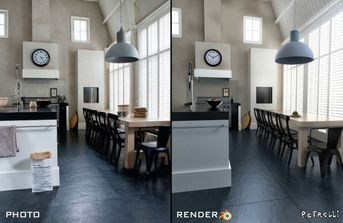 Kitchen in Blender