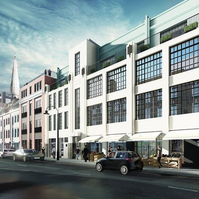 Spitalfield Works Exteriors Render
