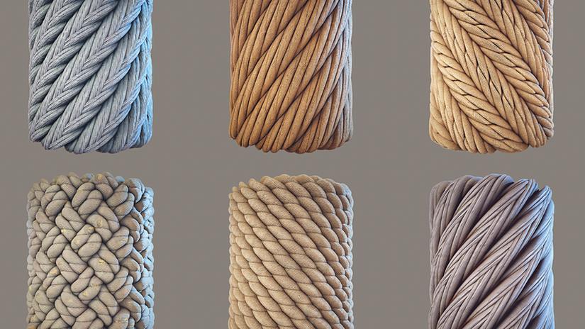 Materiali per corde