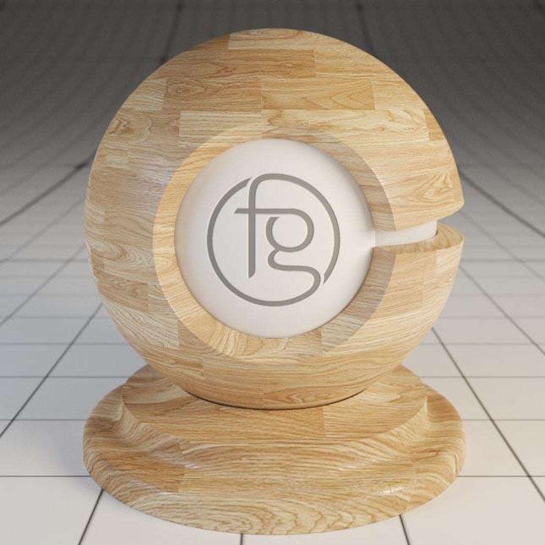 Vray Wood material 3ds max