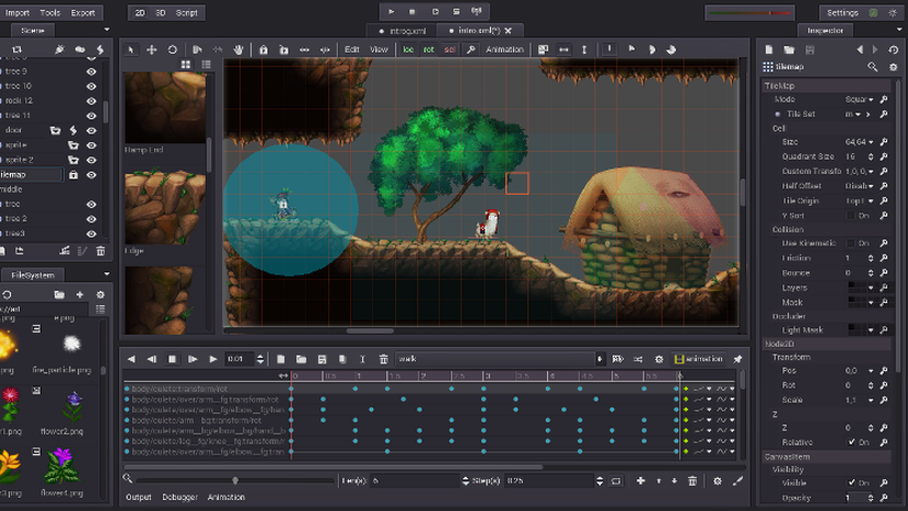 Godot 2.0.1 - game engine open source