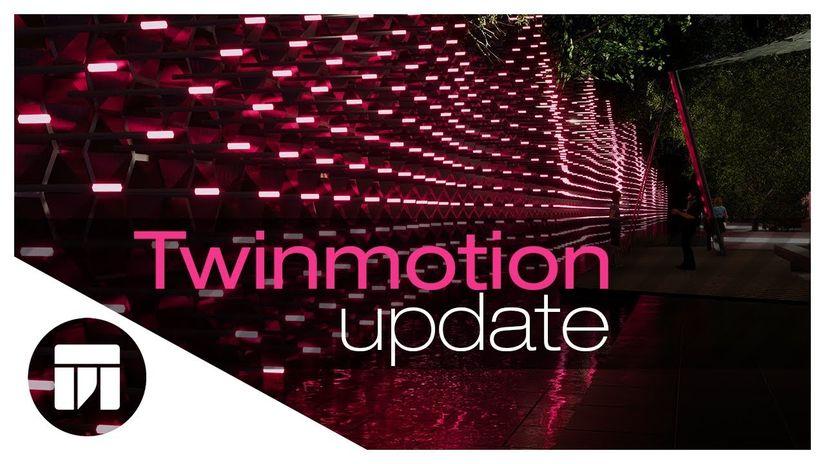 Epic aggiorna Twinmotion con il direct link per SketchUp