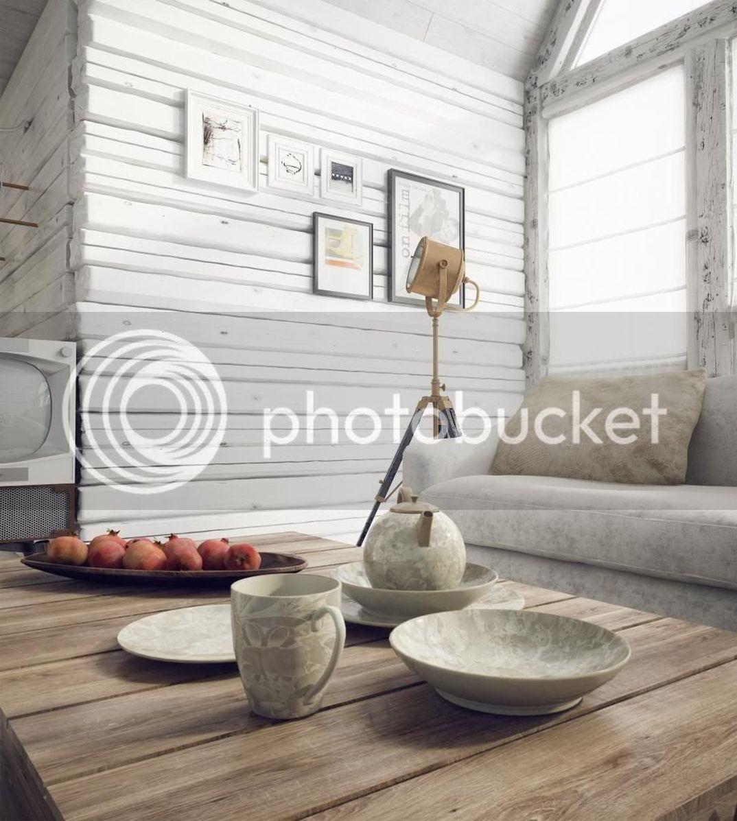 vintage living room!