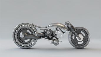 Motorcycle Sculpture1
