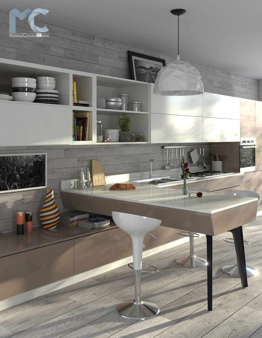 Interior Rendering - KITCHEN