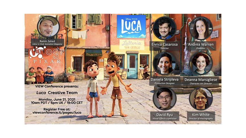 Luca, il prossimo film della Pixar, raccontato da Enrico Casarosa