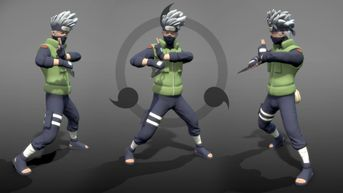 Kakashi Hatake real-time