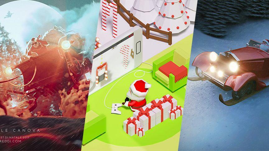 I vincitori del contest Una slitta per Babbo Natale!