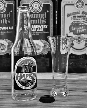 Bottiglia Birra E Bicchiere