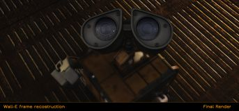 Recostruction Frame of Wall-E Movie